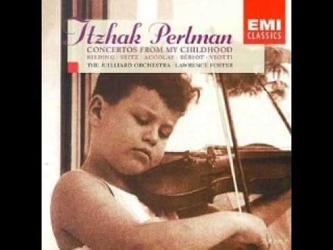 Rieding Violin Concerto in B minor op.35 (Concerto from childhood)