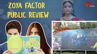 The Zoya Factor Movie Public Review   Sonam Kapoor   Dulquer Salmaan   TeluguOne - TELUGUONE