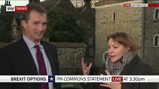 MP makes 'patronising' phone jibe during heated Brexit debate - SKYNEWS
