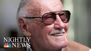 Stan Lee, Creator Of Legendary Marvel Comic Book Superheroes, Dies At 95 | NBC Nightly News - NBCNEWS