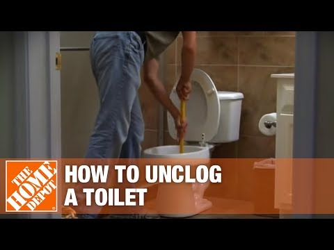 How to Unclog a Toilet - The Home Depot