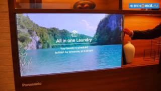 Panasonic – первый в мире прозрачный телевизор