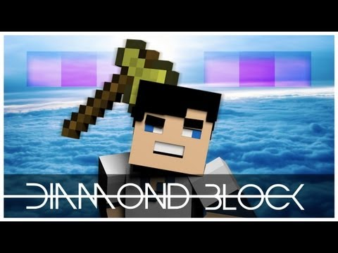 Diamond Block Minecraft Animation