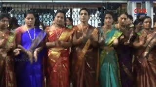 Devi Sharan Navaratri Utsavalu at Vemulawada Sri Raja Rajeshwara temple | CVR NEWS - CVRNEWSOFFICIAL