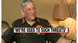 Army Chief on NewsX | On Pak's nuke threats - NEWSXLIVE