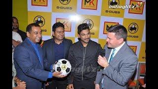 Allu Arjun launches Buffalo Wild Wings B Dubs Restaurant in Hyderabad - IGTELUGU