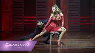 كارول سماحة ترقص الـ Tango على انغام حدودي السما
