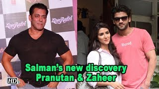 Meet Salman Khan's new discovery - Pranutan & Zaheer - BOLLYWOODCOUNTRY