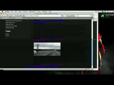 WordPress Template Tutorial