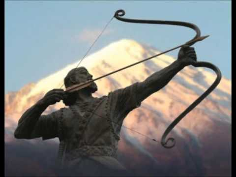 Arash Kamangir - The Heroic Archer of Iranian Legend   