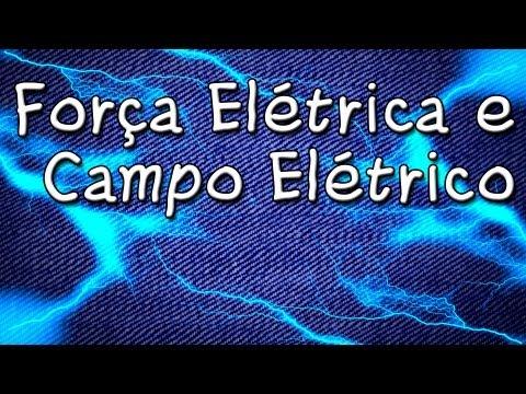 Aula Grátis de Física - Força Elétrica Campo Elétrico Lei de Coulomb - Cursinho Gratuito para ENEM