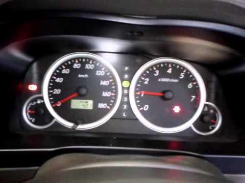 Toyota Avanza 1.5S Start Up Speedometer