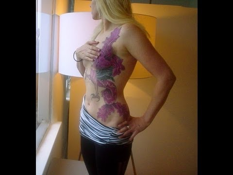 Tattoos Cover Breast Cancer Scars