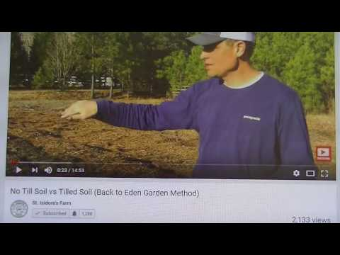 Growing  ( Building ) Organic No Till Garden Soil 101, How to at St. Isidore's Farm