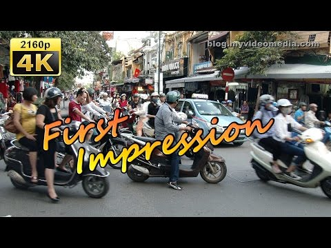 Arrival in Hanoi - Vietnam 4K Travel Channel