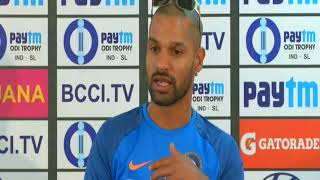 17 Dec, 2017 - Cricket: Dhawan says India is the strong side in final ODI against Sri Lanka - ANIINDIAFILE