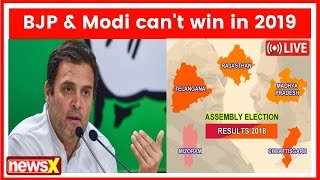 """PM Modi Taught Me What Not To Do"": Rahul Gandhi After State Wins - NEWSXLIVE"