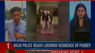 Delhi VVIP Brat: Delhi Police reaches Lucknow residence of Ashish Pandey - NEWSXLIVE