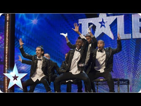 Pop'arazzi street dance on the BGT stage  - Week 2 Auditions | Britains Got Talent 2013