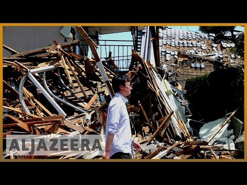 Powerful quake hits Japan