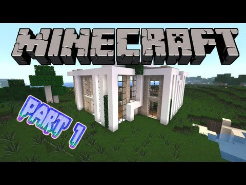 Minecraft : Modernes Haus bauen #3 [Deutsch/German] Part 1