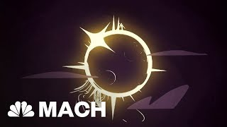 The Amazing Cosmic Coincidence That Makes Total Solar Eclipses Possible | Mach | NBC News - NBCNEWS
