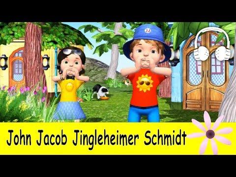 Muffin Songs – John Jacob Jingleheimer Schmidt Tekerlemeler ve İngilizce Çocuk Şarkıları