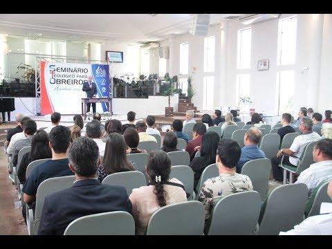 Seminário Teológico para Obreiros - AD Içara - setembro 2018