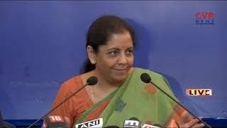 Union Minister Nirmala Sitharaman suppressing facts on Rafale deal | CVR News - CVRNEWSOFFICIAL