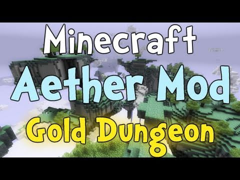 Minecraft - Aether Mod Gold Dungeon Boss