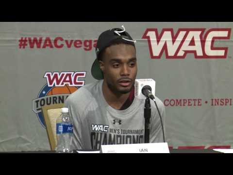 NM STATE WAC CHAMPIONSHIP Post game PRESSER