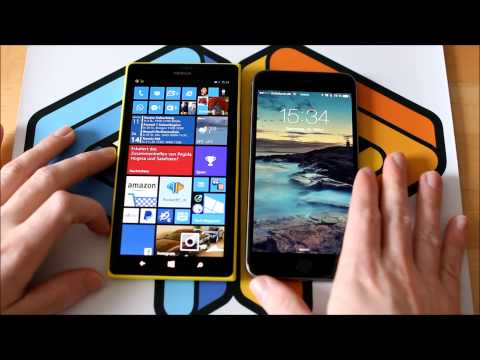 iPhone 6 Plus versus Lumia 1520