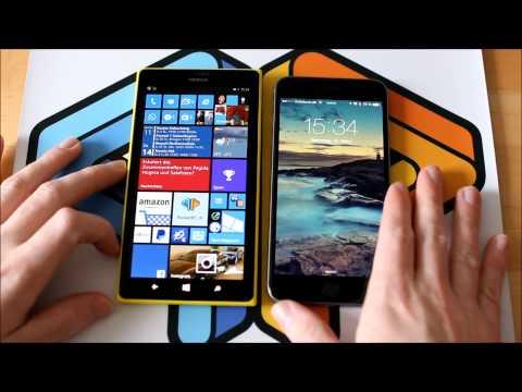 iPhone 6 Plus versus Lumia 1520