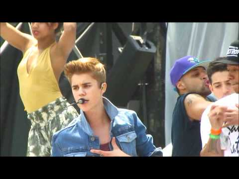 All Around the world/Boyfriend - Justin Bieber MMVAS Soundcheck june 16 2012 -do1OI-vmmYE