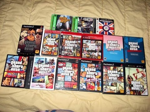 Grand Theft Auto COMPLETE Series Collection