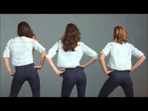 קסטרו פרסומת 2014 גל גדות כוריאוגרפיה טל הנדלסמן - JEANIUS - THE PUSH UP JEANS