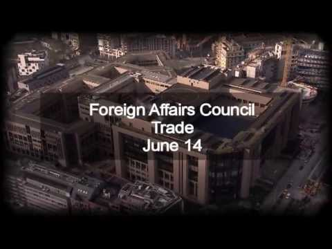 Foreign Affairs Council - Trade Preview, June 14 2013