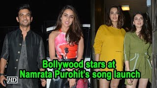 Bollywood stars at celebrity trainer Namrata Purohit's song launch - BOLLYWOODCOUNTRY