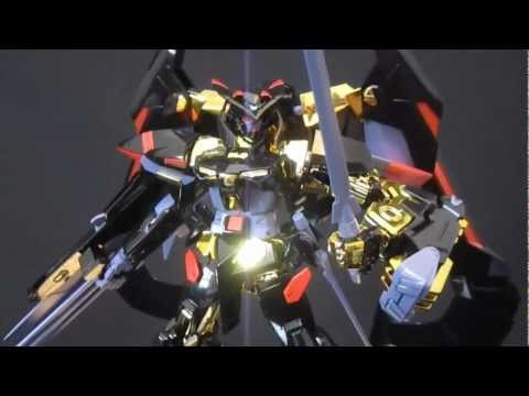 1/100 Gold Frame Amatsu (Part 4: MS) Gundam Seed Astray gunpla model review
