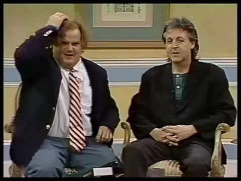 Paul McCartney - SNL 1993- Chris Farley Show-Early Rehearsal