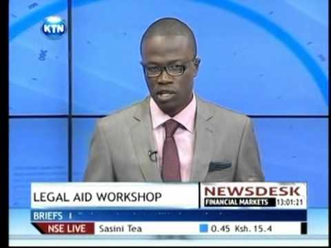 KTN News on Legal aid