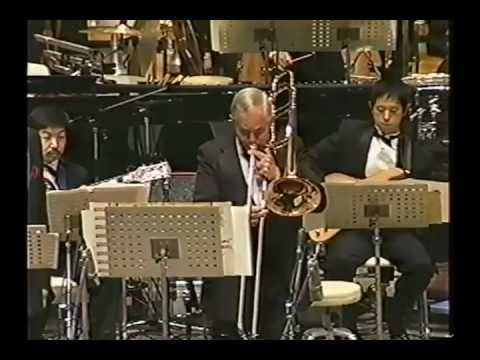 George Roberts Trombone - Star Wars Suite - 100 Trombones Concert (video)