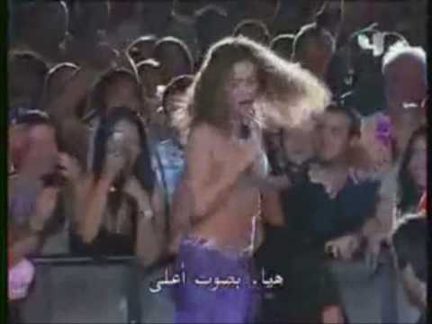 Shakira live in Dubai - Hotel Burj Al Arab live in your dreams