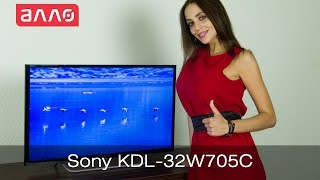 Видео-обзор телевизора Sony KDL-32W705CBR2