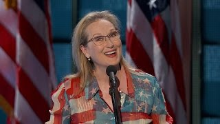 Meryl Streep on Hillary Clinton: 'She'll Be the First, But She Won't Be the Last' - ABCNEWS