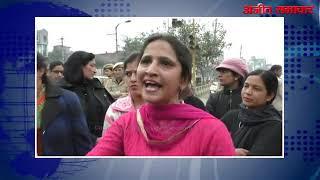 video : अध्यापक संघर्ष कमेटी द्वारा पंजाब पुलिस व पंजाब सरकार के खिलाफ नारेबाजी