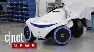 This security robot can detect weapons - CNETTV