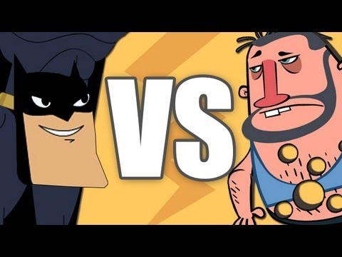 Justice League VS White Trash (Animation Battle #1)