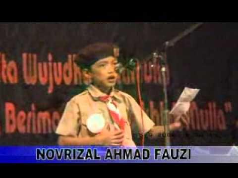 Baca Puisi - NOVRIZAL - Anak Tasik