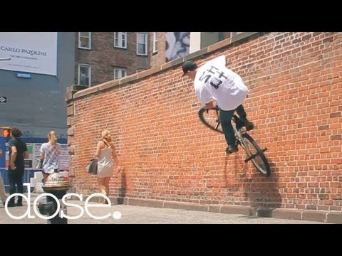 Ed Wonka's Freestyle Fixed Gear Takeover NYC